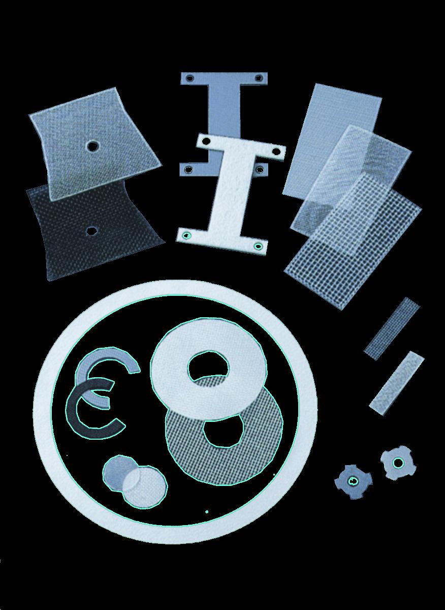 Lasergeschnittene Teile